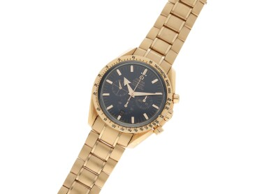 View 4. Thumbnail of Lot 13. OMEGA | REFERENCE 3153.80.00 SPEEDMASTER 'BROAD ARROW' A PINK GOLD AUTOMATIC CHRONOGRAPH WRISTWATCH WITH DATE AND BRACELET, CIRCA 2009.