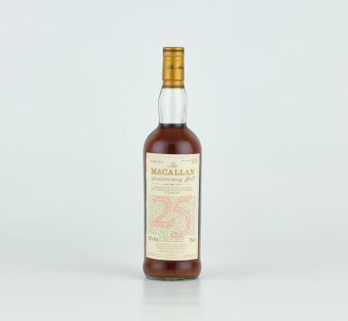The Macallan 25 Year Old Anniversary Malt 43.0 abv 1971 (1 BT)