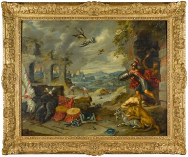 View 2. Thumbnail of Lot 131. An Allegory of War.