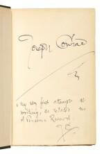 Conrad, Almayer's Folly, 1895, signed