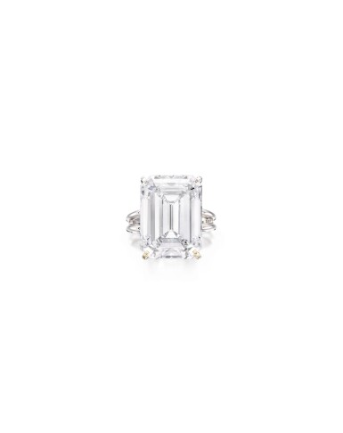 View 1. Thumbnail of Lot 1680. A Highly Important Diamond Ring | 17.32克拉 方形 D色 鑽石 戒指.
