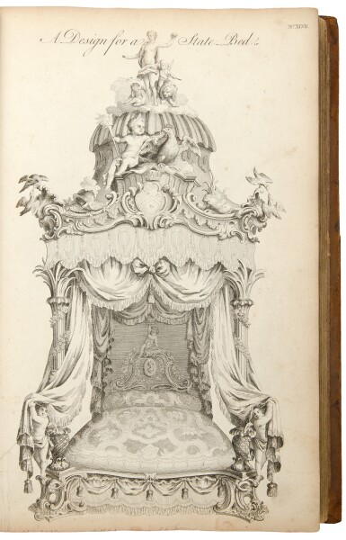 View 6. Thumbnail of Lot 33. Thomas Chippendale. The Gentleman and Cabinet-Maker's Director: London: 1762.