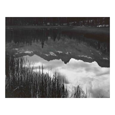 View 1. Thumbnail of Lot 92. Reflections, Lyell Fork of the Merced River.