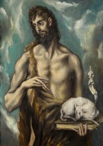 MANNER OF DOMÉNIKOS THEOTOKÓPOULOS, CALLED EL GRECO, 20TH CENTURY | SAINT JOHN THE BAPTIST