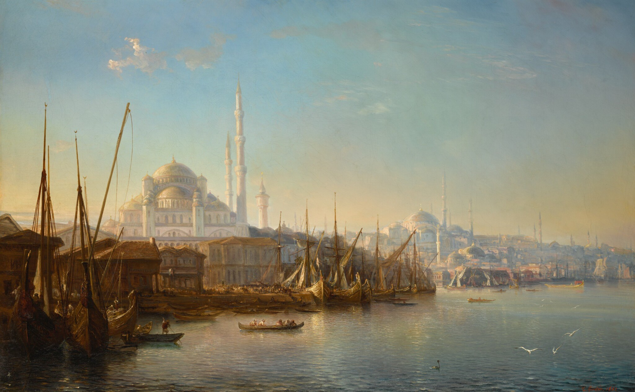 View full screen - View 1 of Lot 16. THÉODORE GUDIN | THE GOLDEN HORN.