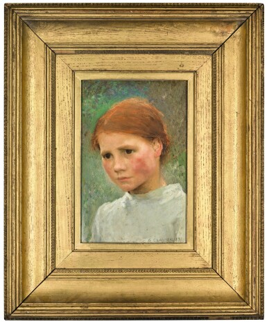 View 2. Thumbnail of Lot 1. Portrait of a Child, Rose Grimsdale.