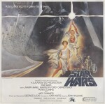 STAR WARS, BILLBOARD POSTER, US, TOM JUNG, 1977