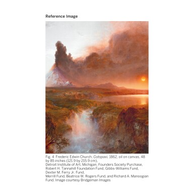 View 6. Thumbnail of Lot 36. FREDERIC EDWIN CHURCH | SOUTH AMERICAN LANDSCAPE.