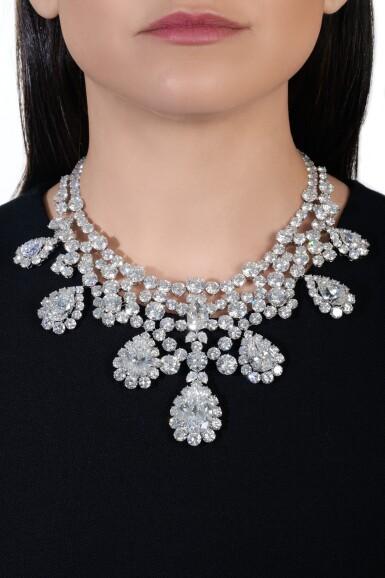 View 5. Thumbnail of Lot 176.  Harry Winston | Diamond necklace, circa 1973 | 海瑞溫斯頓 | 鑽石項鏈,約1973年.