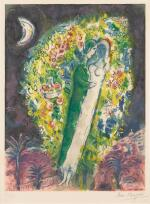 AFTER MARC CHAGALL | COUPLE DANS LES MIMOSAS (M. CS. 32)