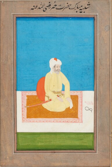 View 5. Thumbnail of Lot 71. NORTHERN INDIA AND DECCAN, 19TH CENTURY | FOUR PORTRAITS.