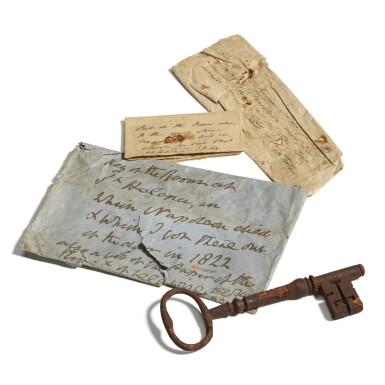 "View 1. Thumbnail of Lot 116. ""The Key to Napoleon's Room"", circa 1815."