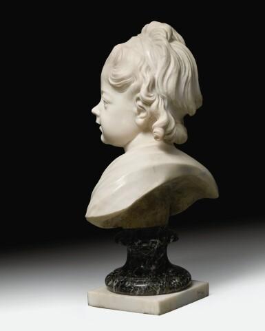 View 9. Thumbnail of Lot 63. Portrait of Constance-Félicité-Victoire-Désirée Vassé, daughter of the artist.