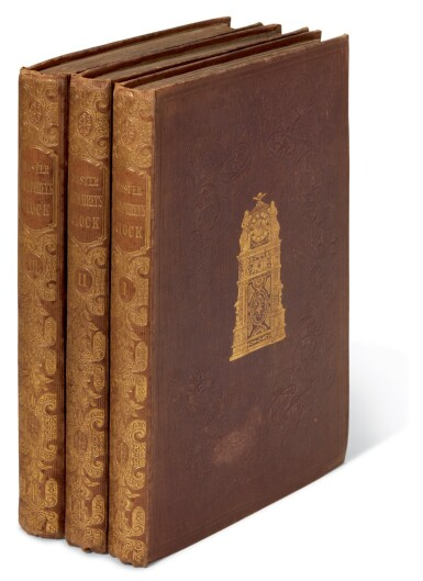 Dickens, Master Humphrey's Clock, 1840-41, first edition in book form, bound from the weekly parts