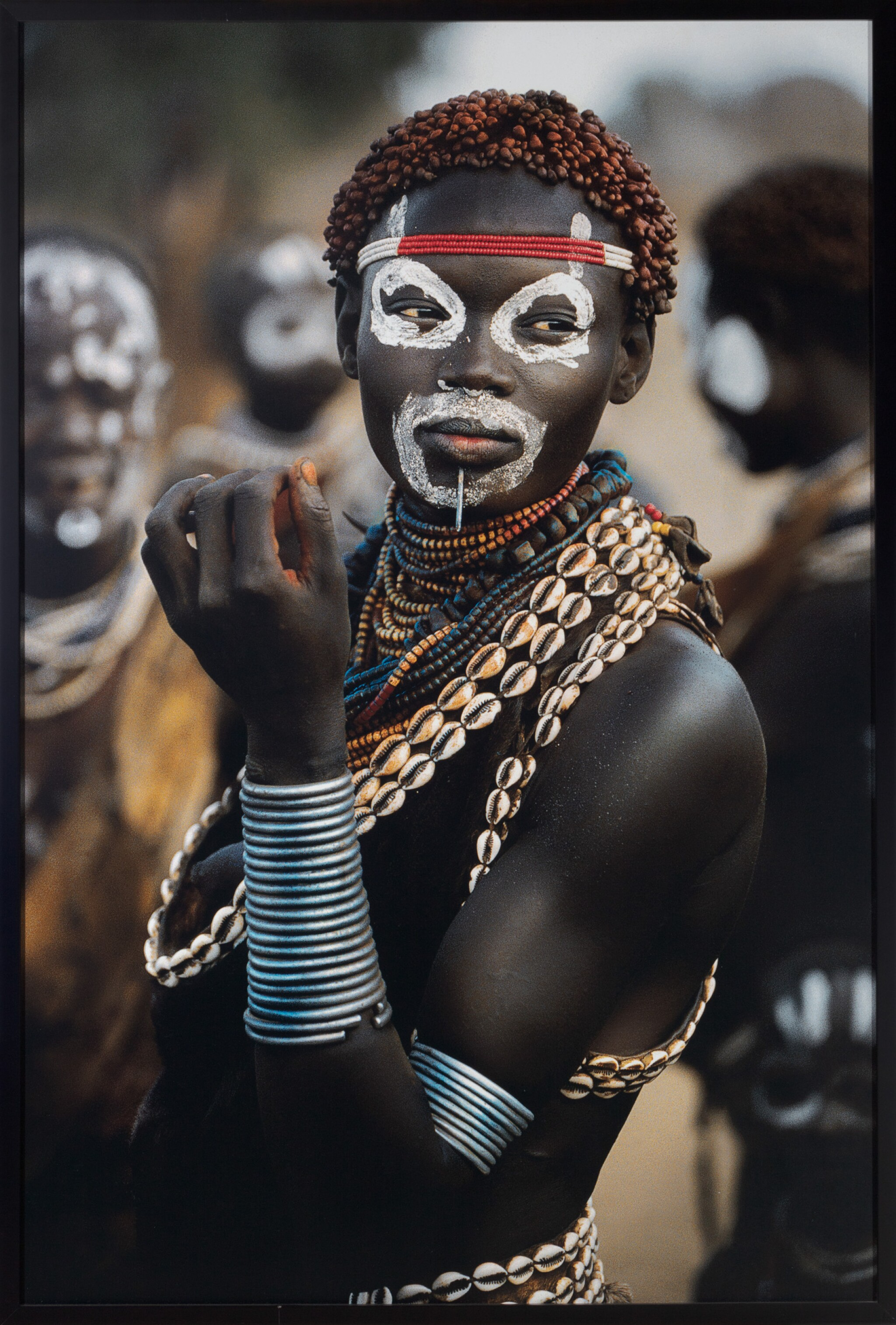 View full screen - View 1 of Lot 83. Karo (woman wearing cowrie shell necklace) #99    .