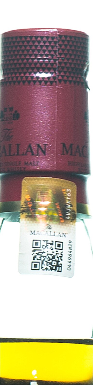 View 3. Thumbnail of Lot 45. The Macallan The Red Collection 78 Year Old 42.2 abv NV (1 BT70).