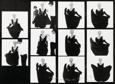 BERT STERN | MARILYN MONROE, PLANCHE CONTACT, 1962
