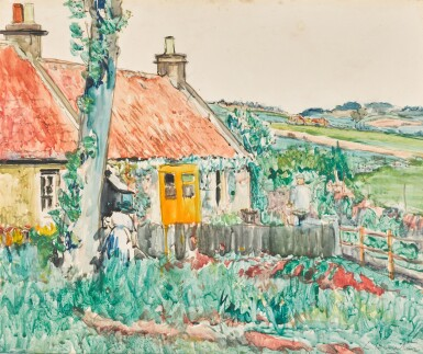 View 1. Thumbnail of Lot 13. A Cottage near Largo, Fife.
