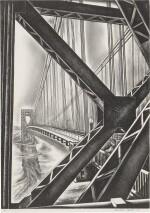 "George Washington Bridge with ""B"" (Duffy 156)"
