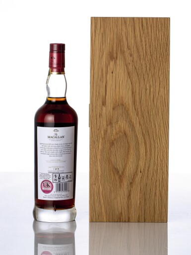 View 2. Thumbnail of Lot 5518. The Macallan The Red Collection 50 Year Old 45.1 abv NV (1 BT70).