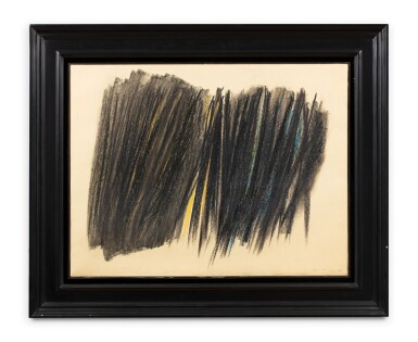 View 2. Thumbnail of Lot 10. HANS HARTUNG | P1960-47.