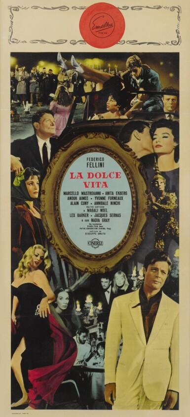 LA DOLCE VITA (1960) POSTER, ITALIAN