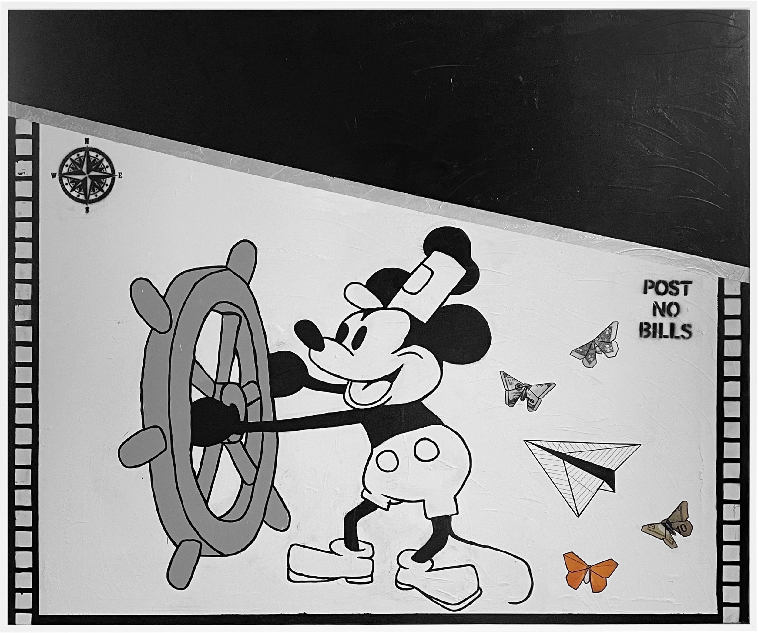 View full screen - View 1 of Lot 12. Steamboat Willie.