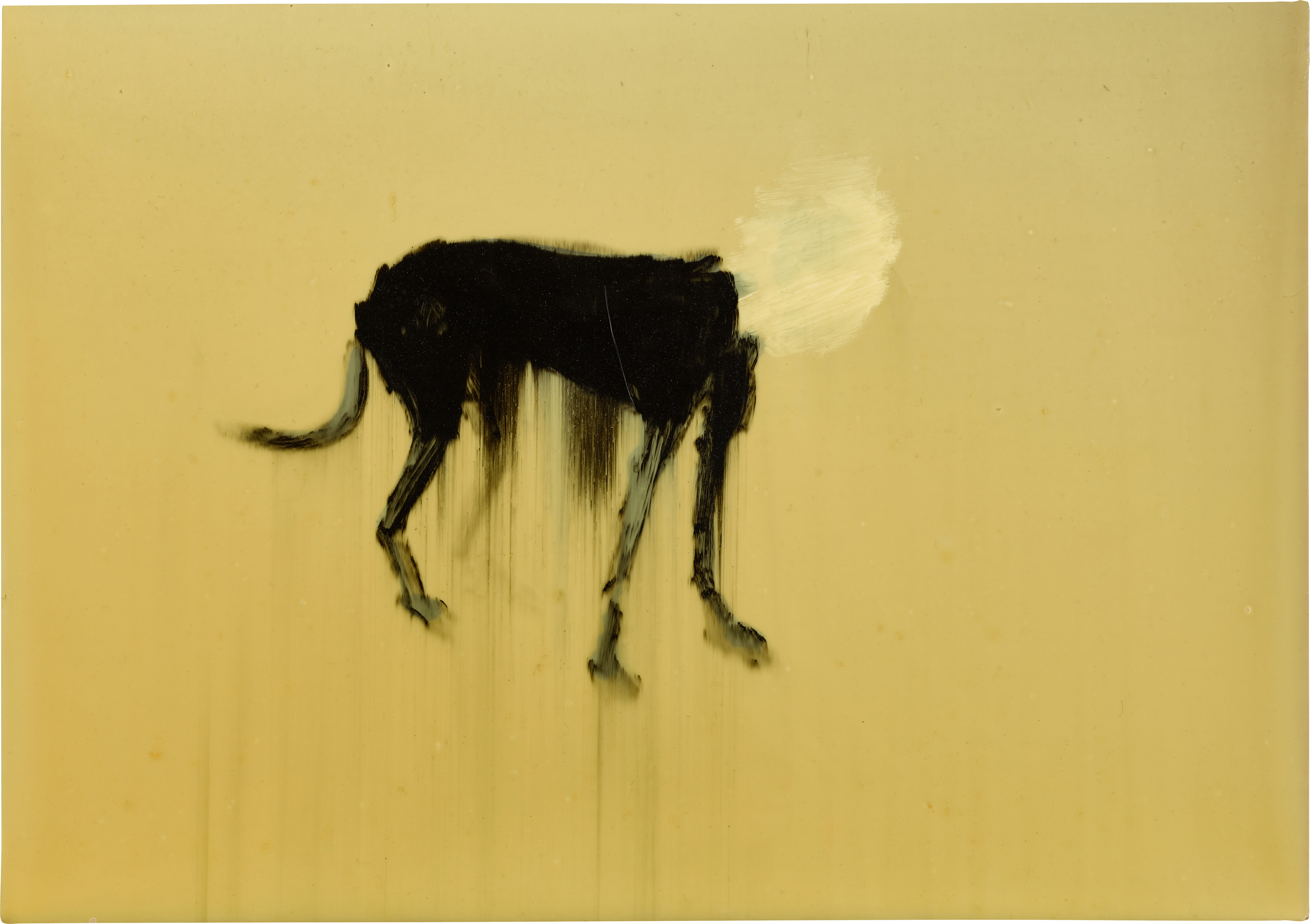 View full screen - View 1 of Lot 52. RACHEL HOWARD | BLACK DOG (HEADLESS).