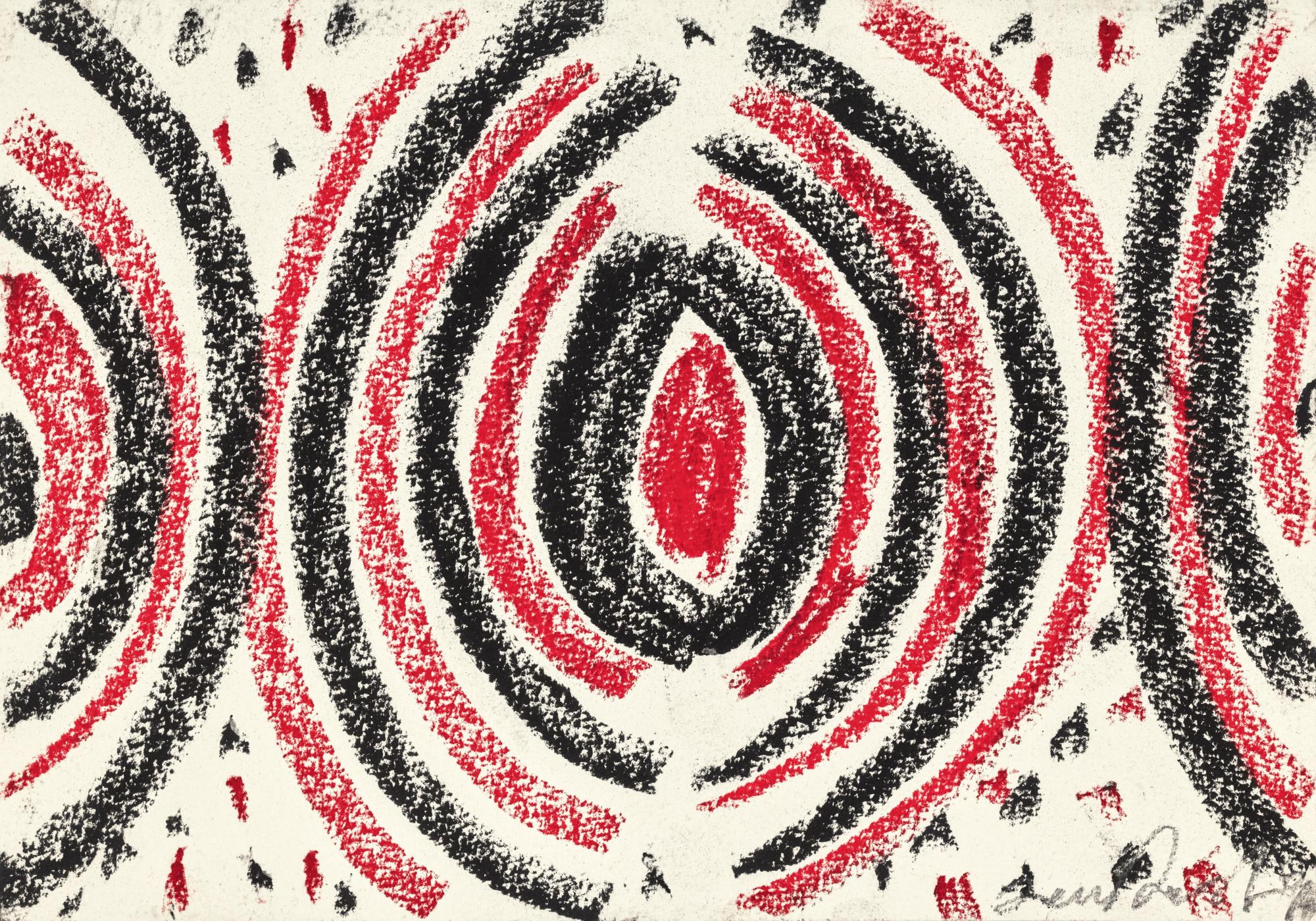 SIR TERRY FROST, R.A.   SUSPENDED FORMS; AND RED AND BLACK