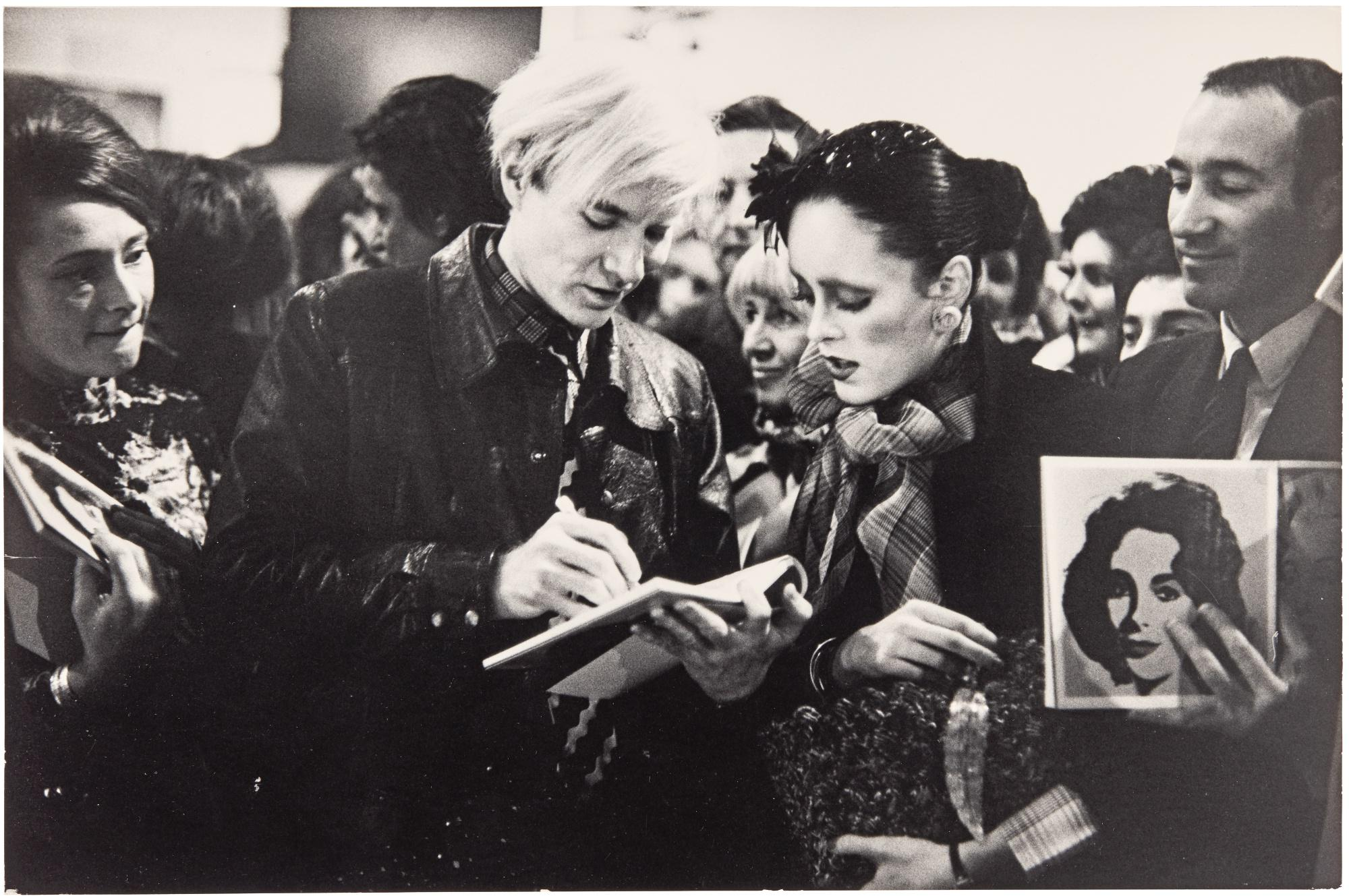 NEIL LIBBERT | ANDY WARHOL AT TATE GALLERY, 1971