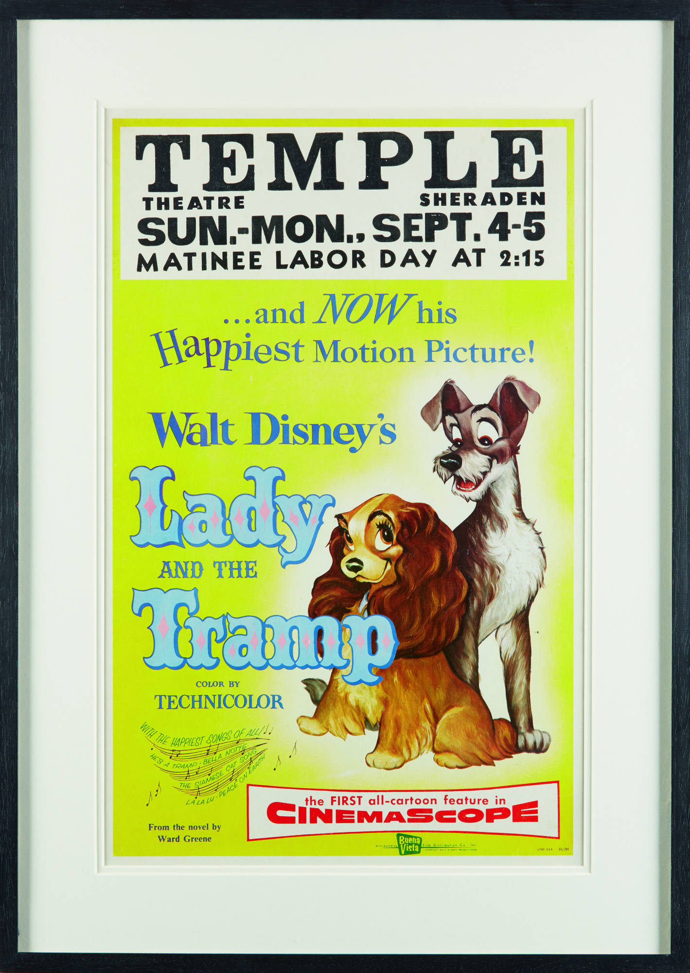 Lady And The Tramp 1955 Poster Us Original Film Posters Online Collectibles Sotheby S
