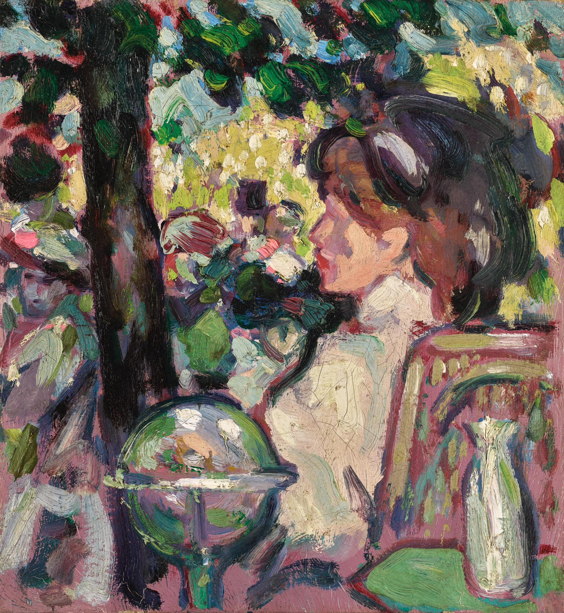 JOHN DUNCAN FERGUSSON, R.B.A. | THE OPEN AIR FÊTE