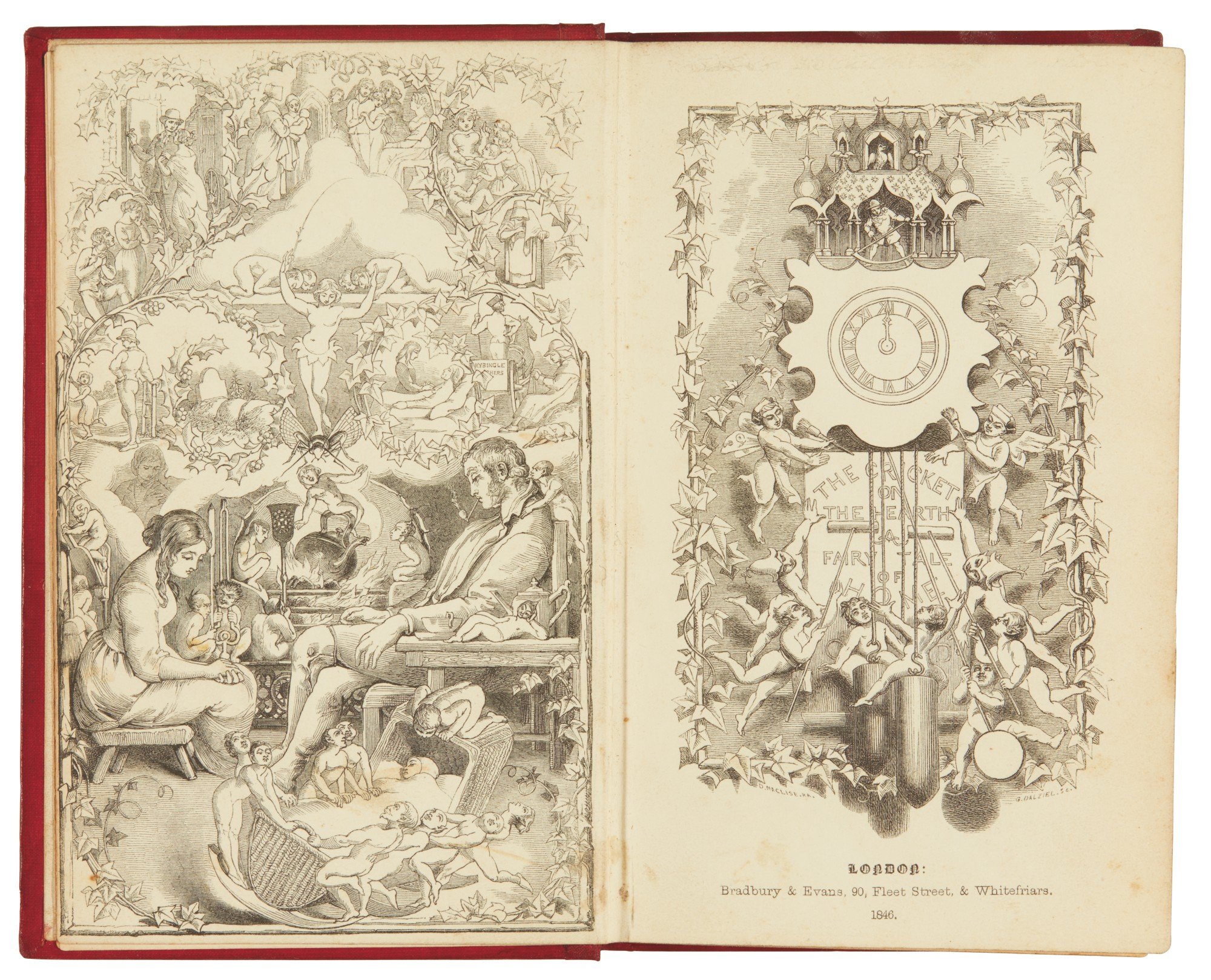 Dickens, The Cricket on the Hearth, 1846 [1845], first edition