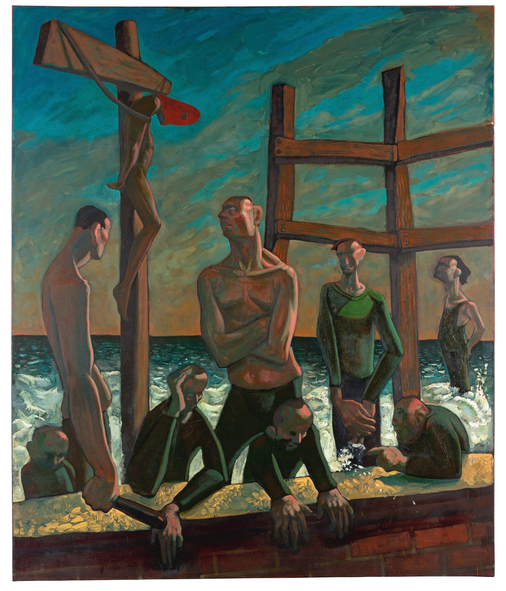 PETER HOWSON | CALM BEFORE THE STORM