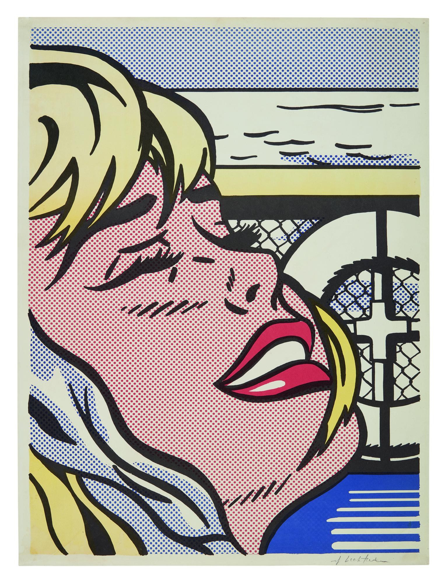 ROY LICHTENSTEIN | SHIPBOARD GIRL (CORLETT II.6)