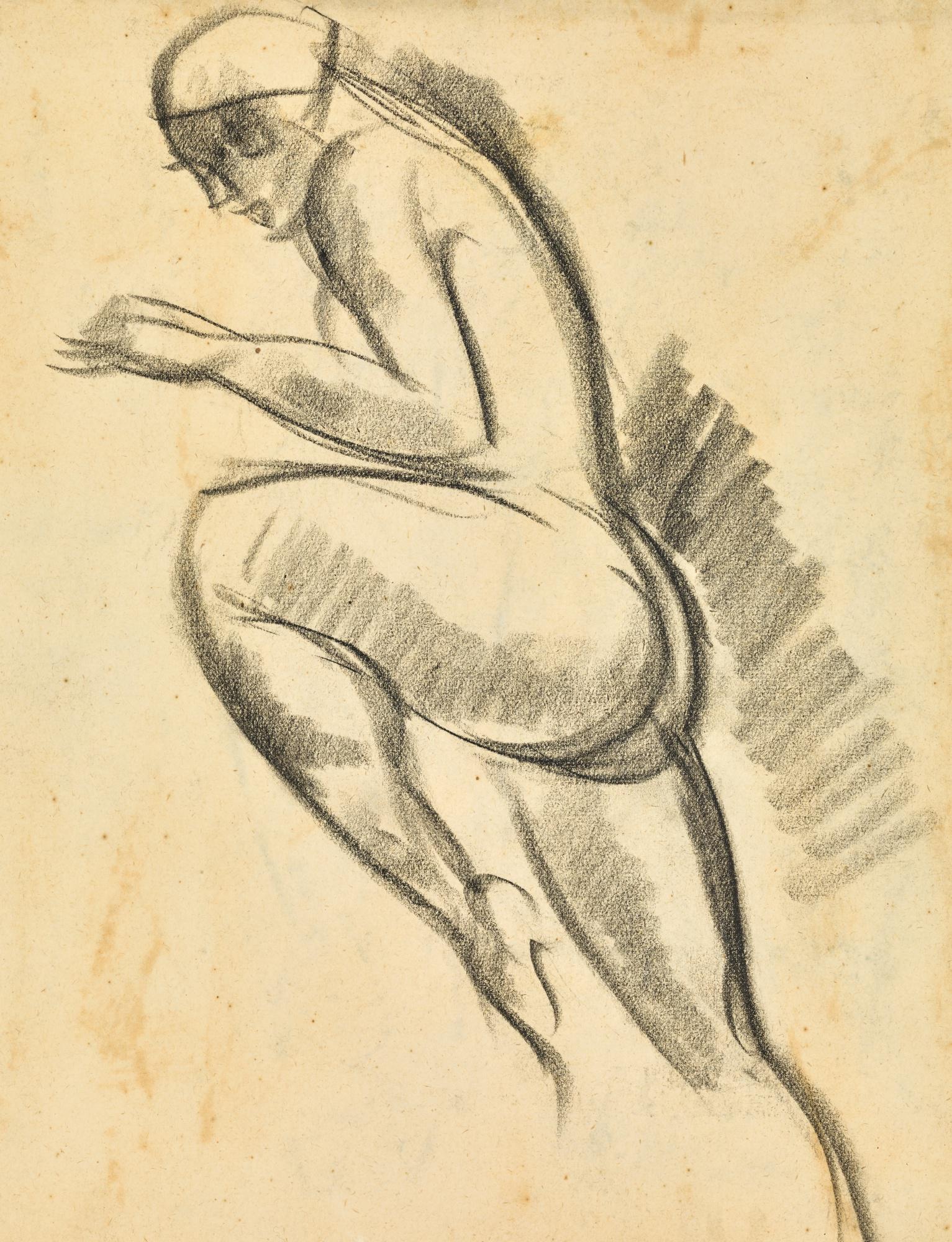JOHN DUNCAN FERGUSSON, R.B.A. | STUDY OF A DANCER