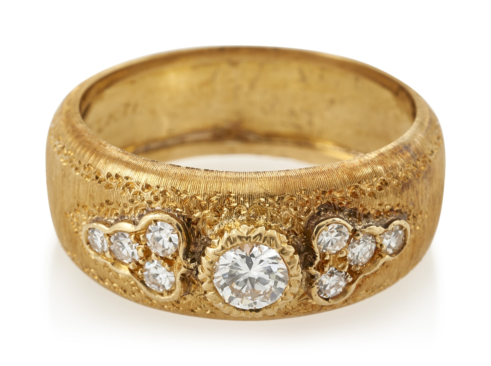 DIAMOND RING  (ANELLO CON DIAMANTI) , FEDERICO BUCCELLATI
