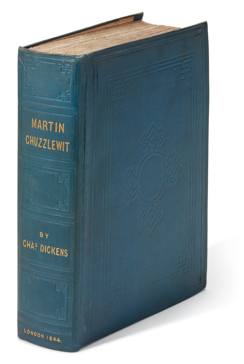 Dickens, Martin Chuzzlewit, 1844, first book edition