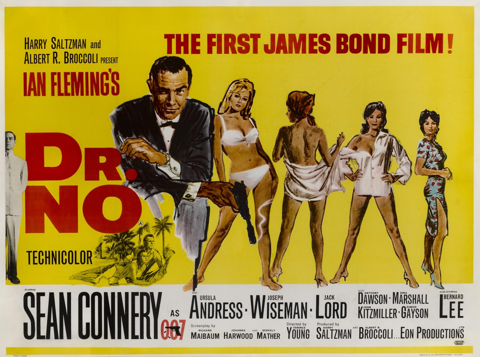 DR. NO (1962) POSTER, BRITISH
