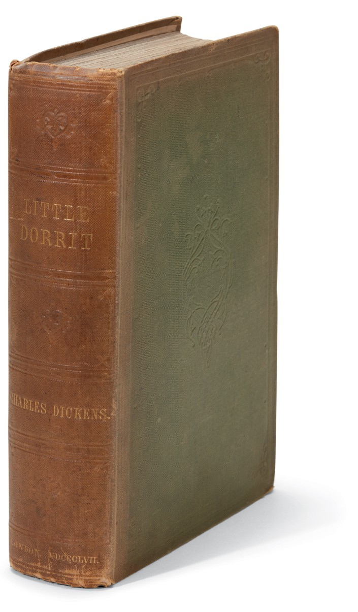 Dickens, Little Dorrit, 1857, first book edition