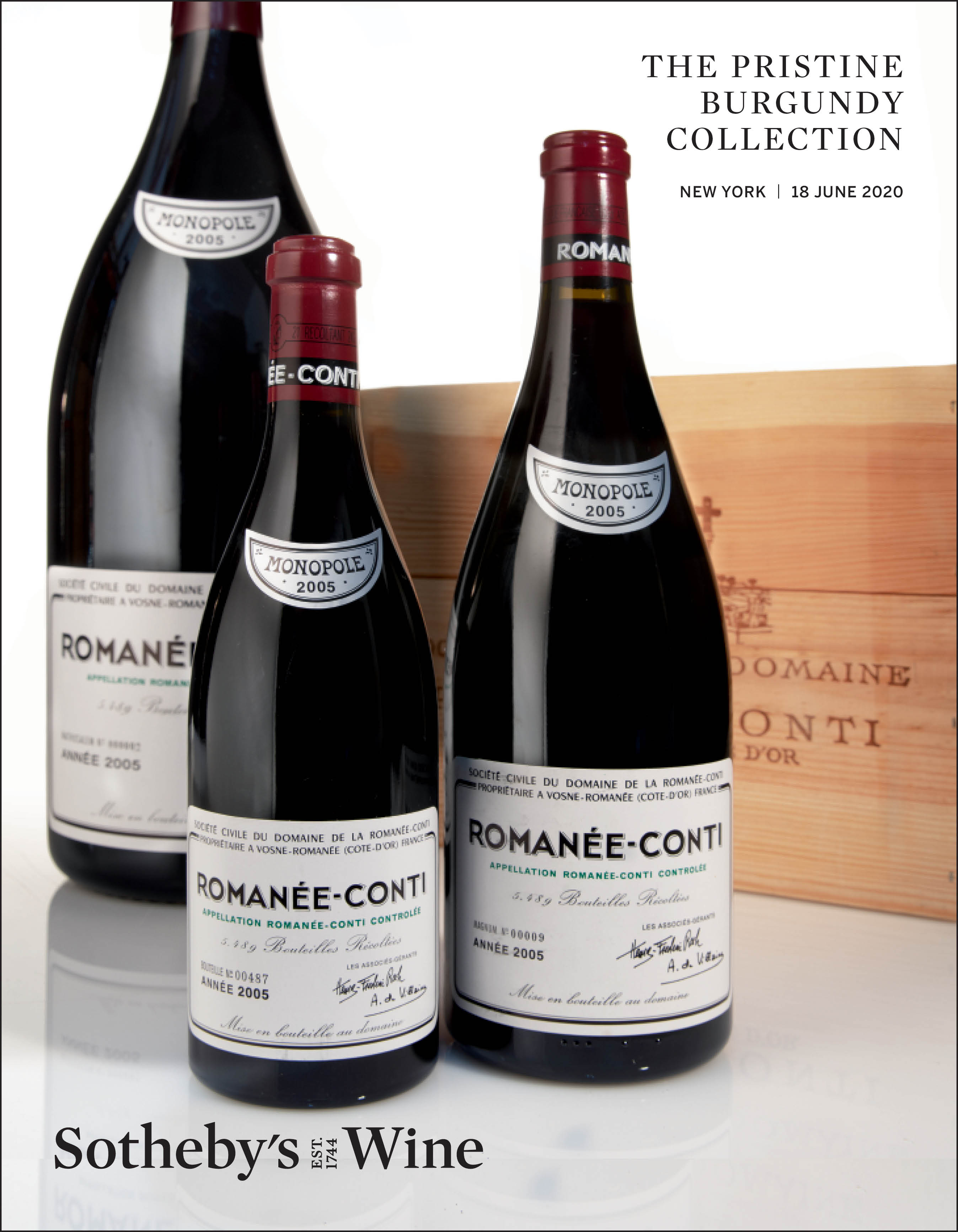 View full screen - View 1 of Lot 132.  Bourgogne Rouge 2012  Domaine Georges Roumier (8 BT).