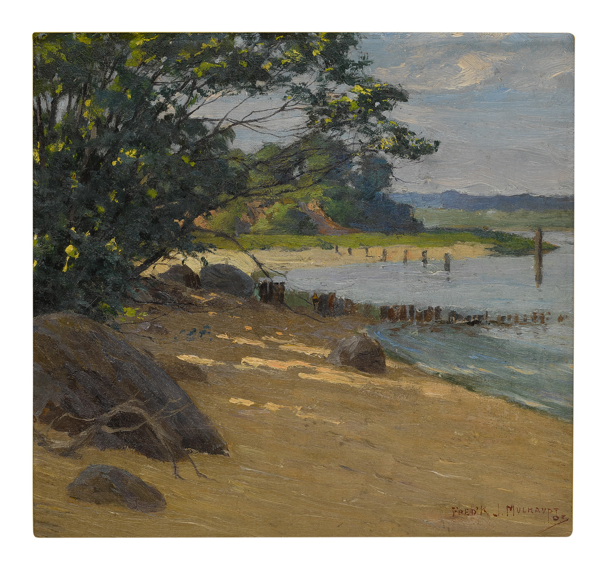 FREDERICK JOHN MULTHAUPT | QUIET SHORE