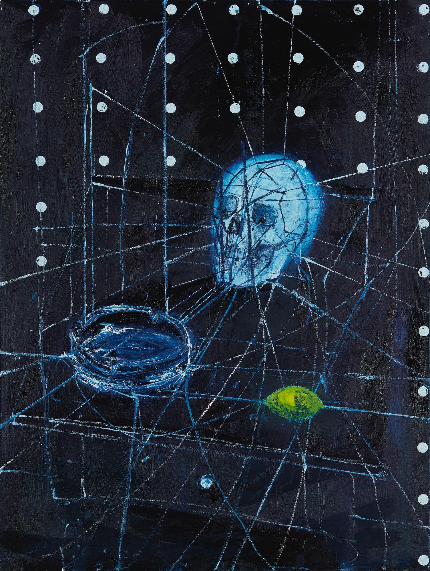 Damien Hirst Skull Ashtray Lemon Contemporary Art New York2020 Sotheby S